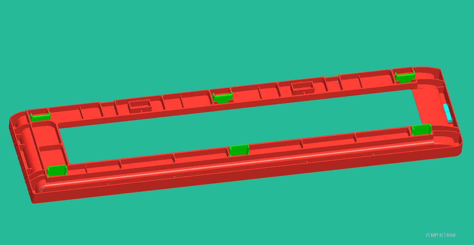 Комплектация шаблона для кладки кирпича